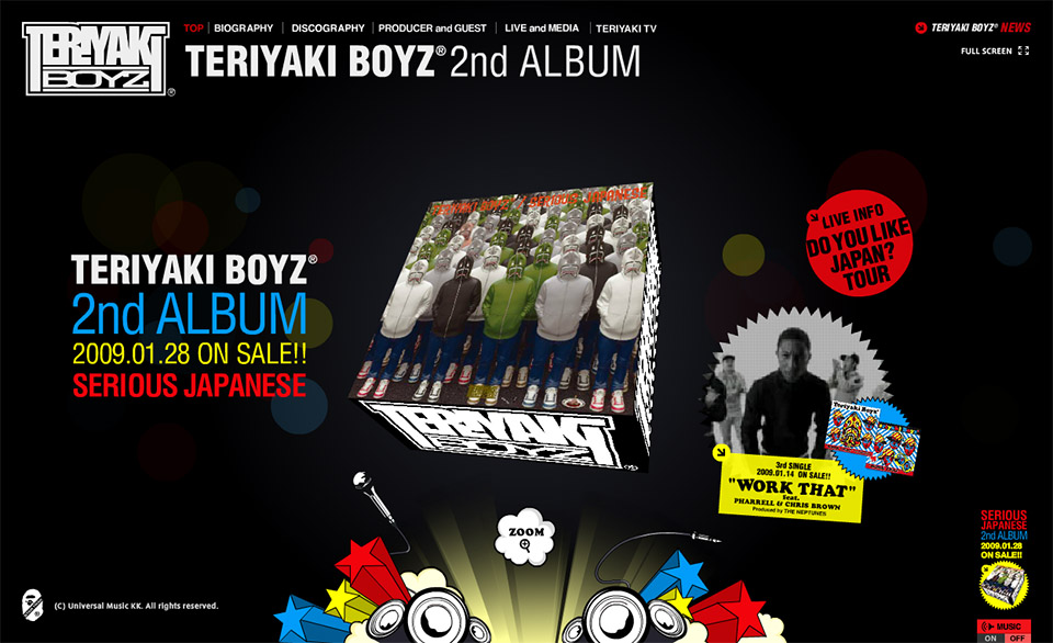 TERIYAKI BOYZ -OFFICIAL SITE-