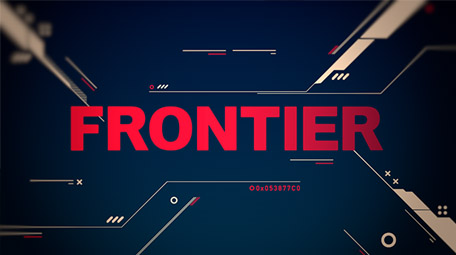 FRONTIER Logo Animation