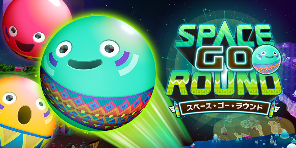 SPACE GO ROUND Game  iPhone / Android Apps